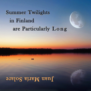 Summer Twilights in Finland are Particularly Long